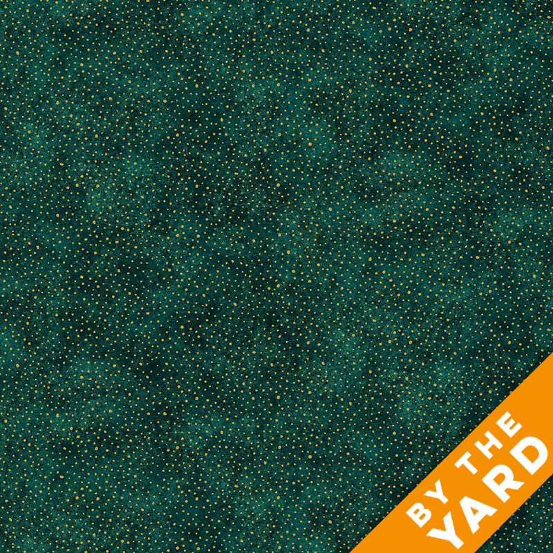 Artisan Spirit Shimmer by Northcott - Peacock - 20426M-79 - Fabric by the Yard