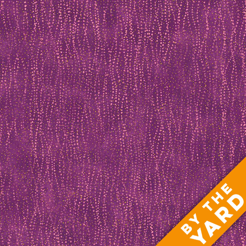 Artisan Spirit Shimmer by Northcott - Hibiscus - 21461M-28 - Fabric by the Yard