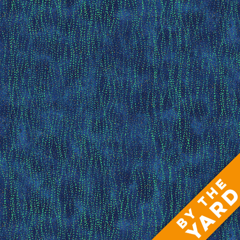 Artisan Spirit Shimmer by Northcott - Blue Lagoon - 21461M-49 - Fabric by the Yard