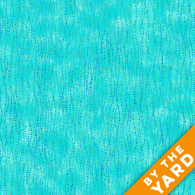Artisan Spirit Shimmer by Northcott - Blue Lagoon - 21461M-66 - Fabric by the Yard