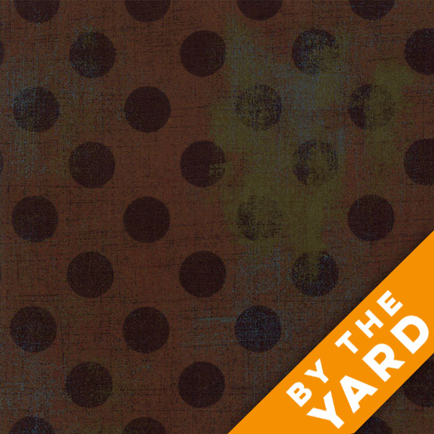 Grunge Hits the Spot - Hot Cocoa by Moda Fabrics - 30149-14 - Fabric by the Yard