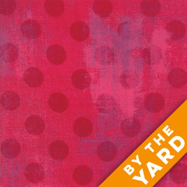 Grunge Hits the Spot - Raspberry by Moda Fabrics - 30149-23 - Fabric by the Yard