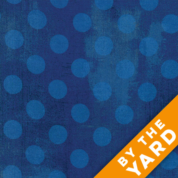 Grunge Hits the Spot - Cobalt by Moda Fabrics - 30149-28 - Fabric by the Yard
