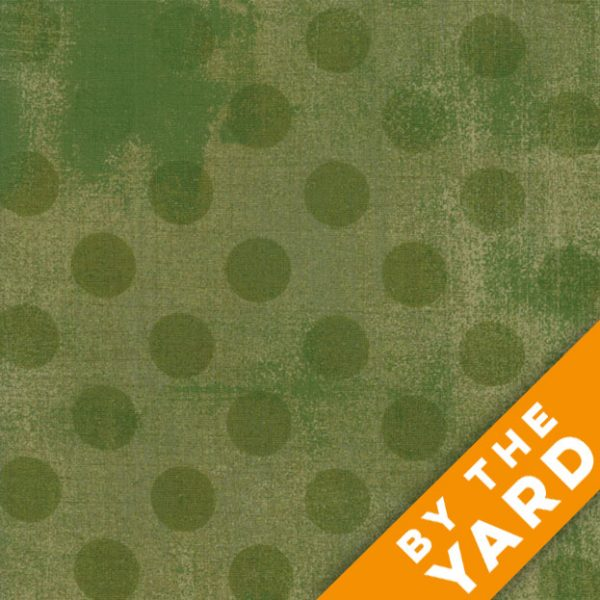 Grunge Hits the Spot - Vert by Moda Fabrics - 30149-32 - Fabric by the Yard