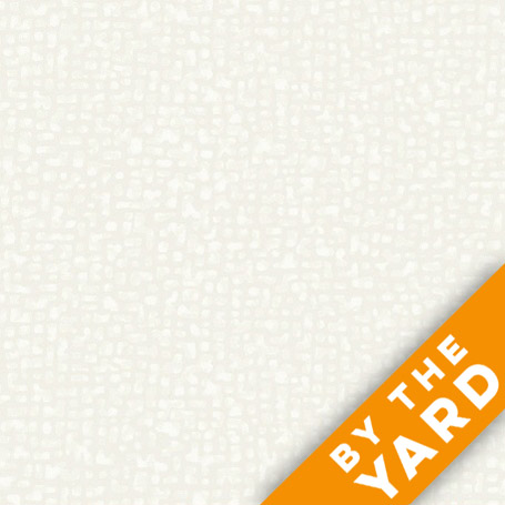 Bedrock by Windham Fabrics - White on White - 50087-42 - Fabric by the Yard