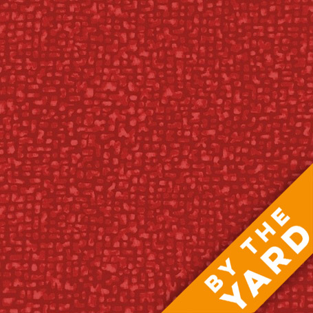 Bedrock by Windham Fabrics - True Red - 50087-5 - Fabric by the Yard