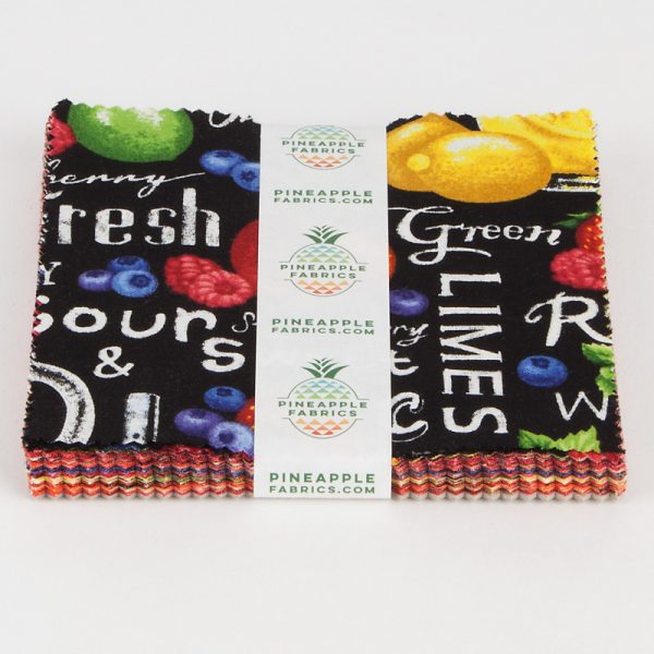 "Farmer John's Fruits - 5"" Squares"