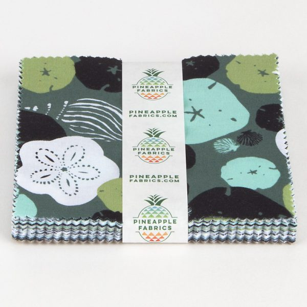 "Low Tide by Jane Dixon for Andover Fabrics  - 5"" Squares"