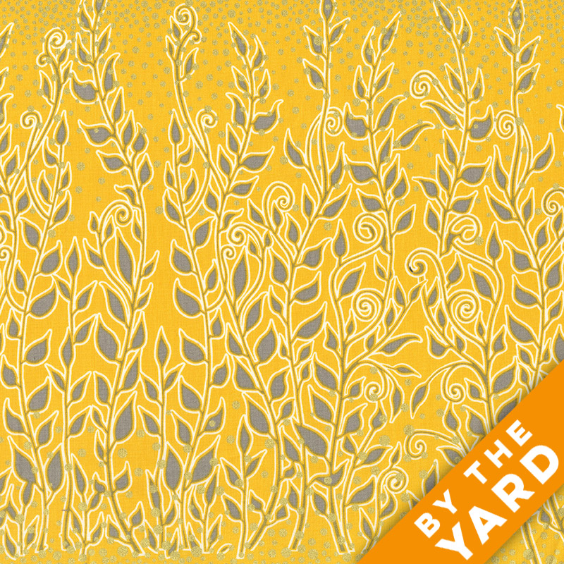Andover - Lonni Rossi - Enchantment - 7367-MY - Fabric by the Yard