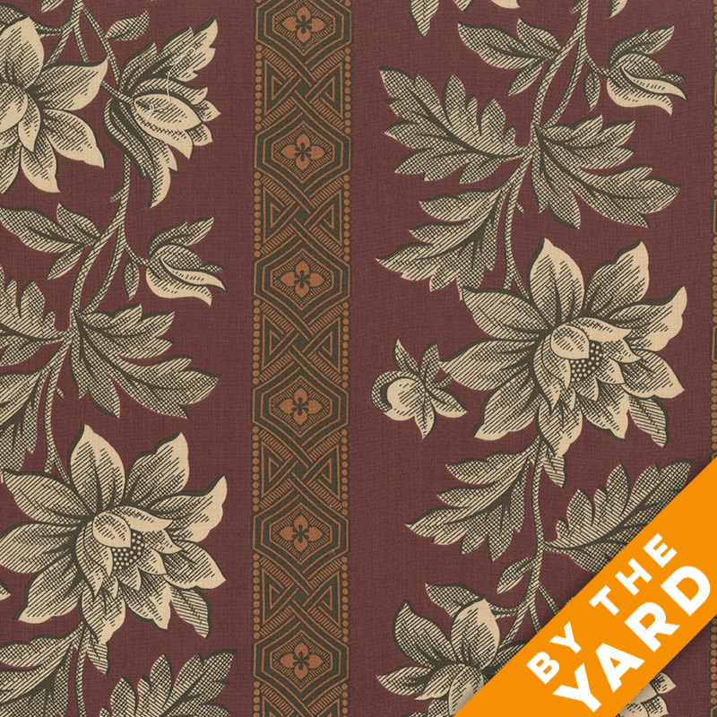 Andover - Jo Morton - Charleston - 7369-OR - Fabric by the Yard
