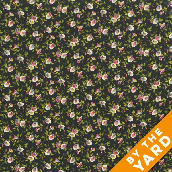 Andover - Little House on the Prairie - Morning Glories - 7952-K - Fabric by the Yard