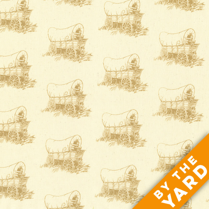 Andover - Little House on the Prairie - Scenic Icons - 8226-L - Fabric by the Yard
