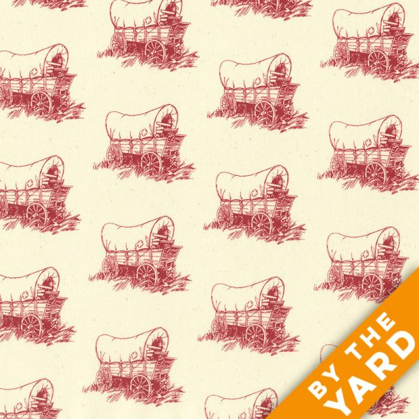 Andover - Little House on the Prairie - Scenic Icons - 8226-R - Fabric by the Yard