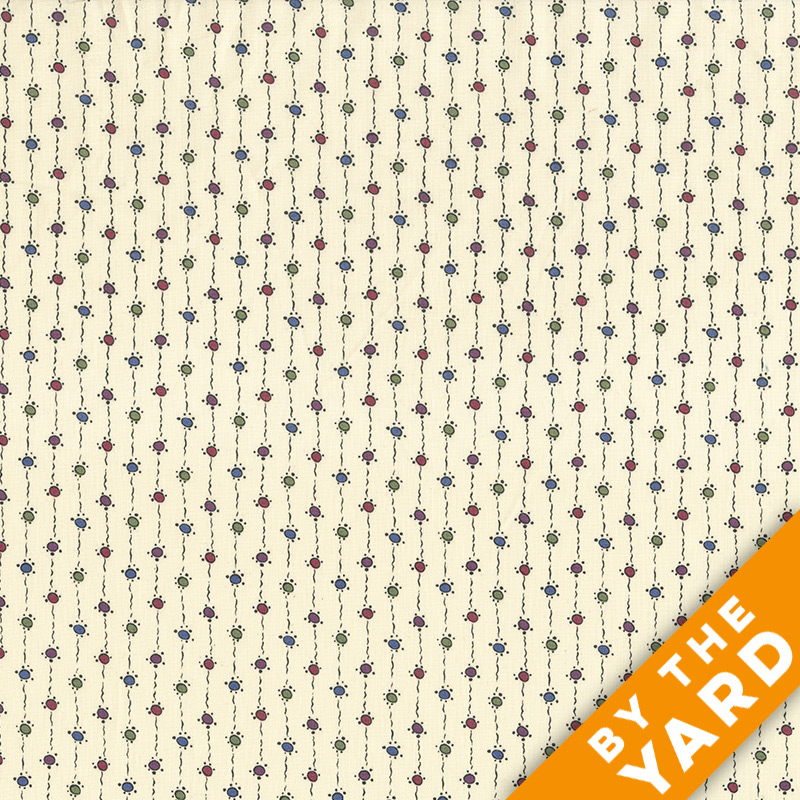 Andover - Downton Abbey - 7331 Cream - Fabric by the Yard