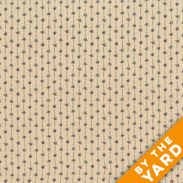 Andover - Downton Abbey - 7331 Tan - Fabric by the Yard