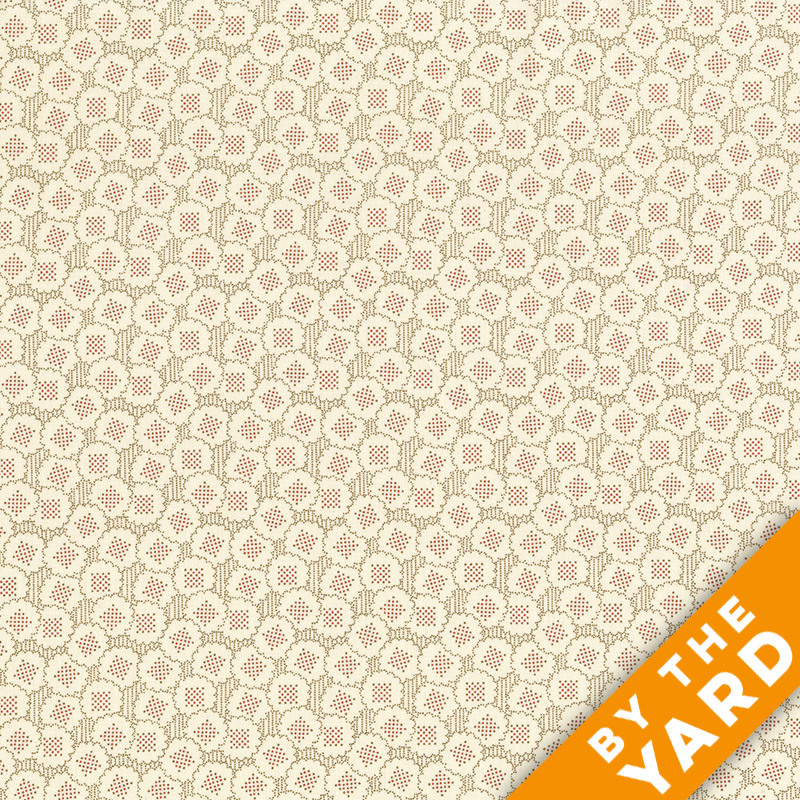 Andover - Downton Abbey - 7600 Brown - Fabric by the Yard