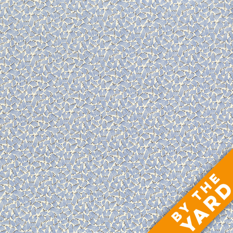 Andover - Downton Abbey - 7601 Blue - Fabric by the Yard