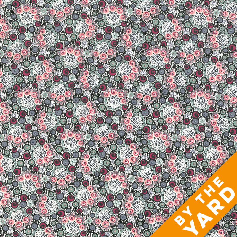 Andover - Downton Abbey - 7613 Pink - Fabric by the Yard