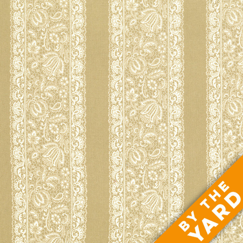 Andover - Downton Abbey - Dowager Countess - 8111 Tan - Fabric by the Yard