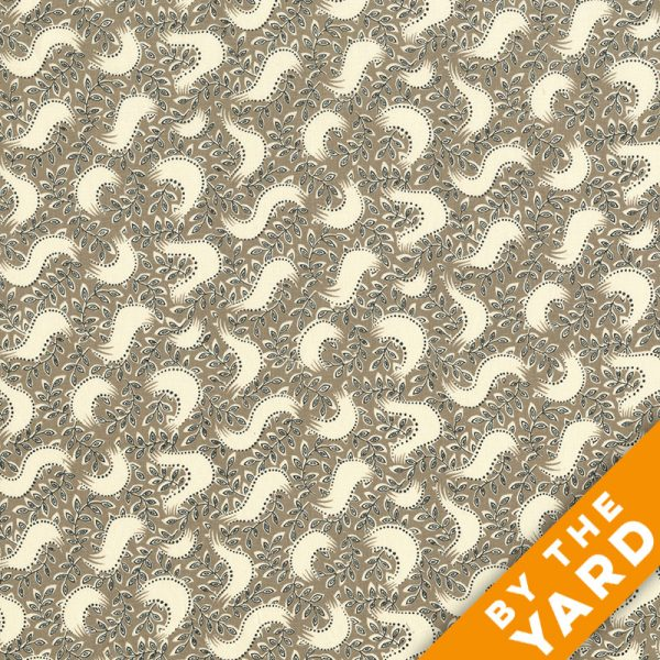 Andover - Downton Abbey - Lady Mary - 7323 Brown - Fabric by the Yard