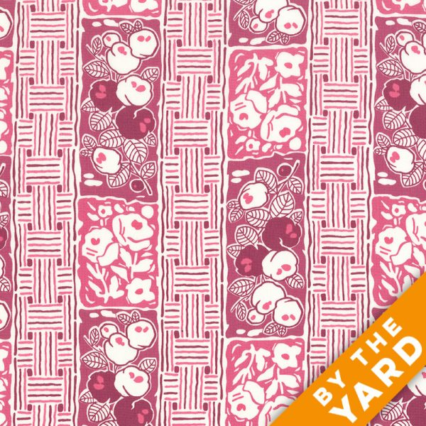 Andover - Downton Abbey - Lady Rose - 7611 Pink - Fabric by the Yard