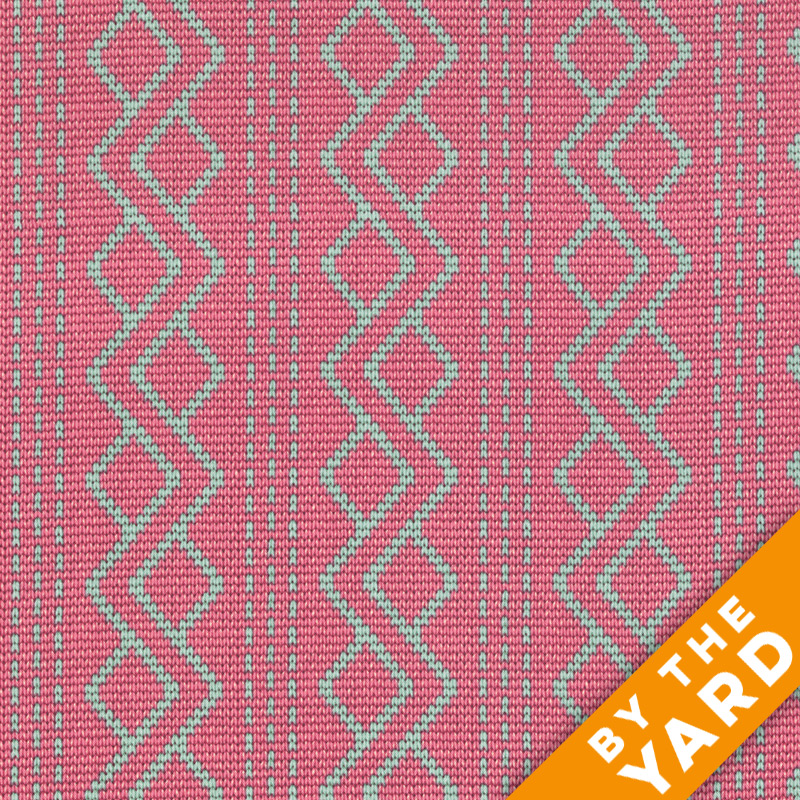 Andover - Downton Abbey - Lady Rose - 7615 Pink - Fabric by the Yard