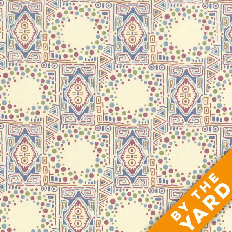 Andover - Downton Abbey - Lady Sybil - 7325 Cream - Fabric by the Yard