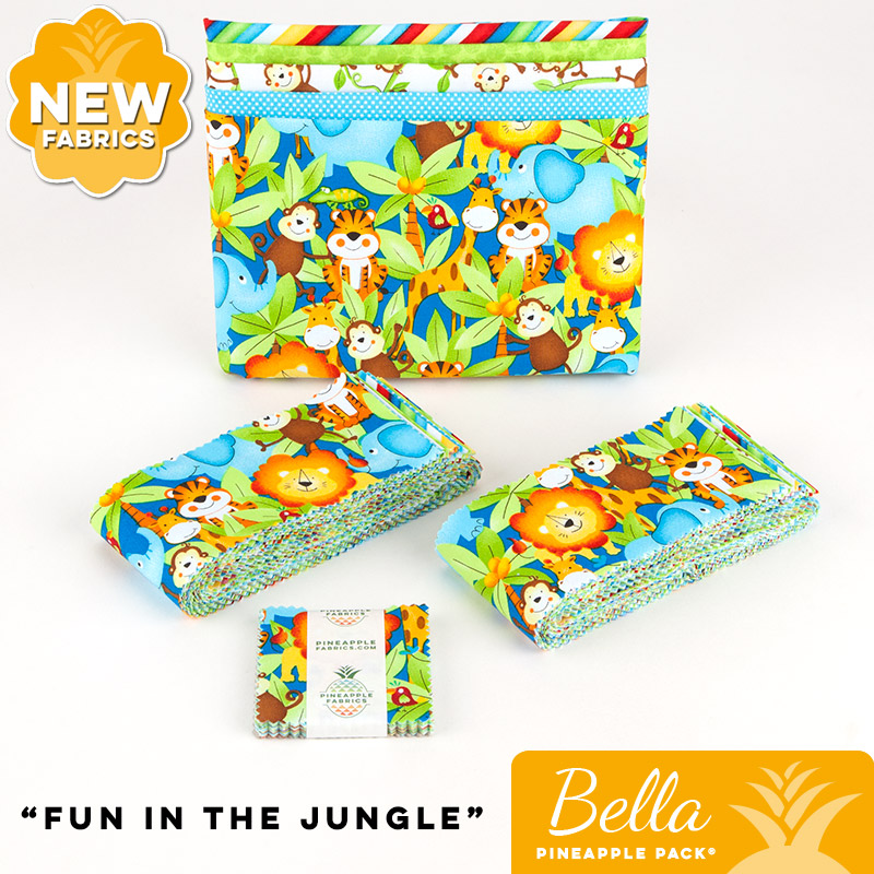 Fun in the Jungle - Bella Pineapple Pack