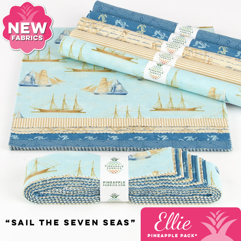 Sail the Seven Seas - Ellie Pineapple Pack