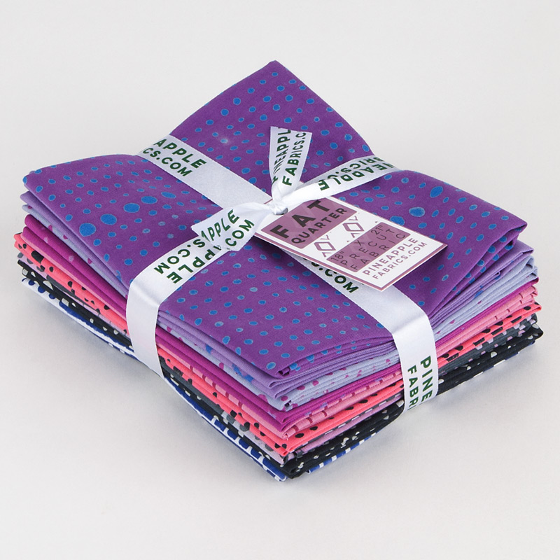 Alison Glass - Chroma 2 - Fat Quarter Bundle - Andover Fabrics - 10 pieces