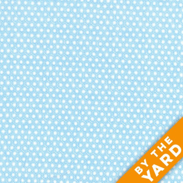 Michael Miller - Sun Tiles - DC6512-Aqua - Fabric By the Yard