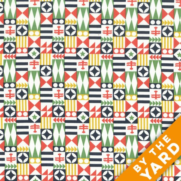 Michael Miller - It's a Boy Thing - DC7206 - Boyx - Fabric By the Yard