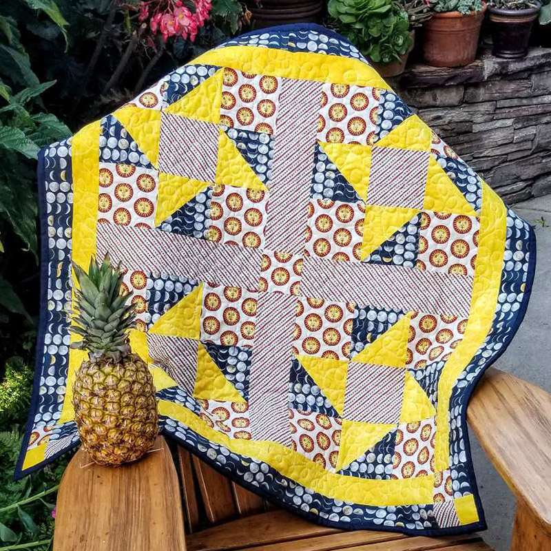 Friendship Star Quilt Carla Pineapple Pack Pattern