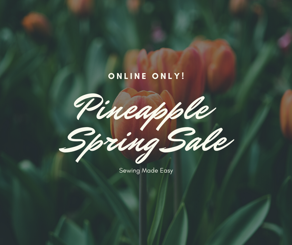 Online Only Spring Sale