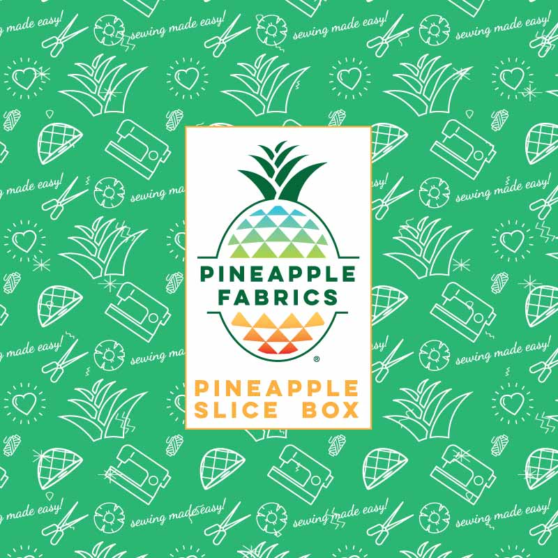 The new improved, bigger and better Pineapple Slice box.